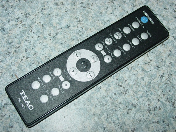 Teac RC-1185 Hi-Fi Audio System Remote Control for MC-DX50i -Free Ship