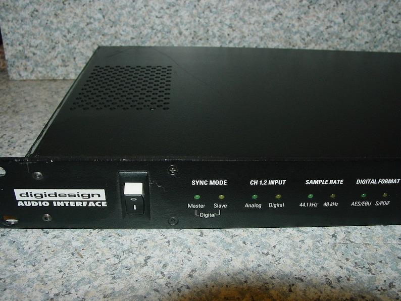 Vintage DigiDesign Quad Audio Interface Pro Audio Tool 16 Bit 4 Channels  (47kHz) -Free Ship-