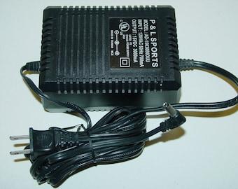 P&L Sports AD-1503000DUU 15V DC 3000mA Power Supply AC Adapter