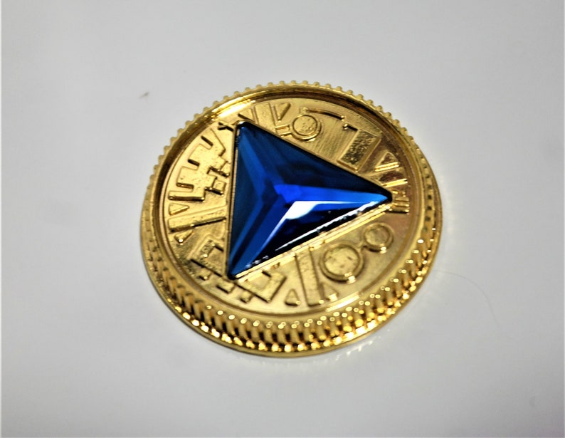 Ranger 2 Yellow Crystal Coin-Gold Made for Bandai Legacy Morpher