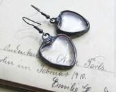 celestial jewellery, gift for her, nostalgic, romantic, love, heart earrings, love earrings