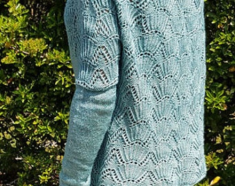 TO order - Kit Sea of Shells - 100% Merino Wool - choose colors - pattern available