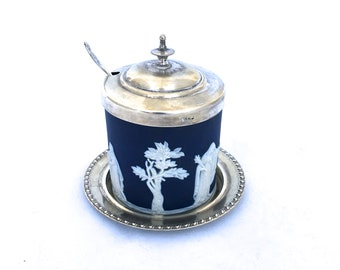 Adams Pottery, Porcelain & Glass Adams Baltic Preserve Pot