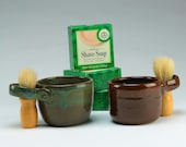 Shaving Bowl - Warm Lather Shaving Kit - Men's Shaving Kit - Old-Fashioned Shave Kit - Great Gift for Idea!