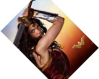 Passport Holder Cover Case  -- Wonder Woman