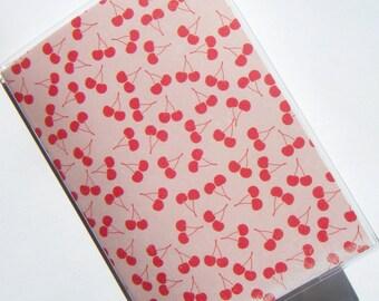 Passport Holder Case Cover -- Cherries