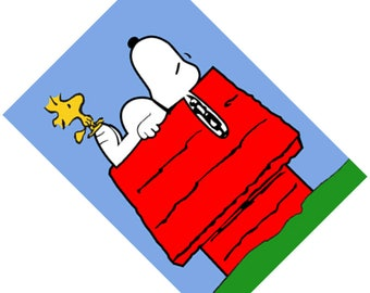 Passport Holder Cover Case  -- Snoopy