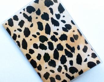 Passport Cover Case Holder -- Leopard Print