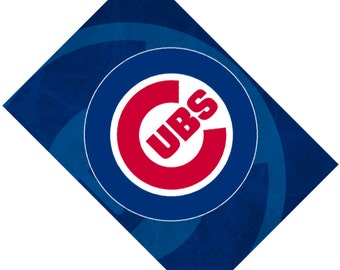 Passport Cover Case Holder -- Chicago Cubs