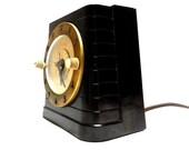 Art Deco Era Warren Telecron Household Timer Bakelite Standing Desk Clock