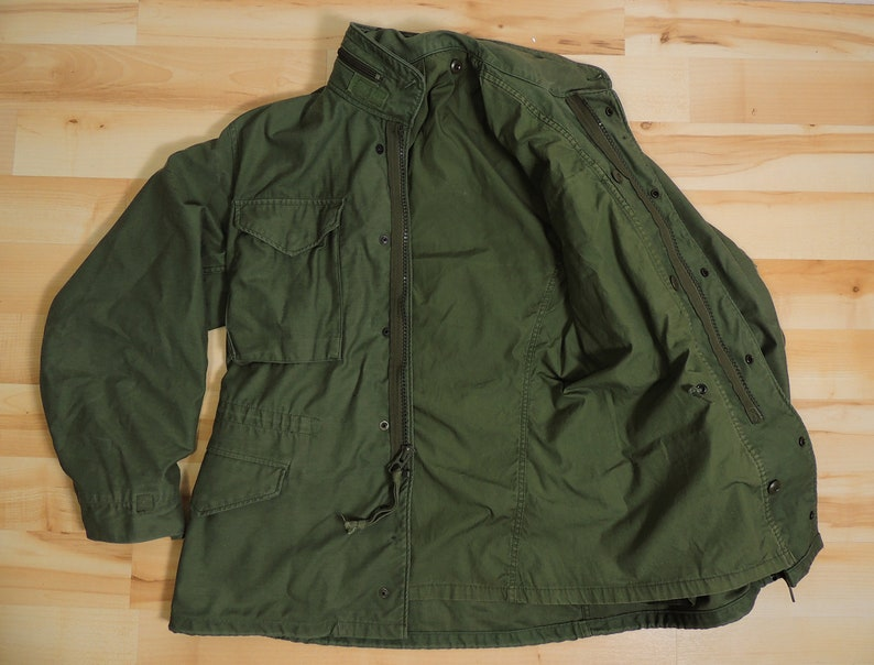 0fc446f3f6b Vintage Military Olive Green Original So-Sew Styles M65 Field