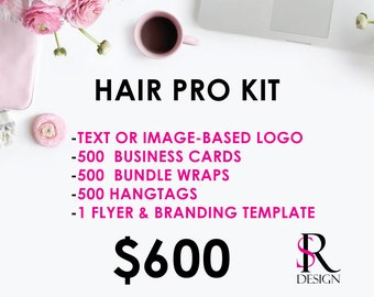 Hair Branding Package, Pro Kit