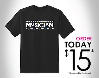 Musician T-Shirt (Martin Inspired)