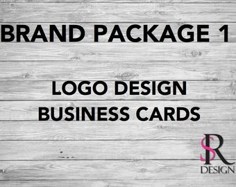 Logo Design, Business Cards, Branding Package, 250 Cards