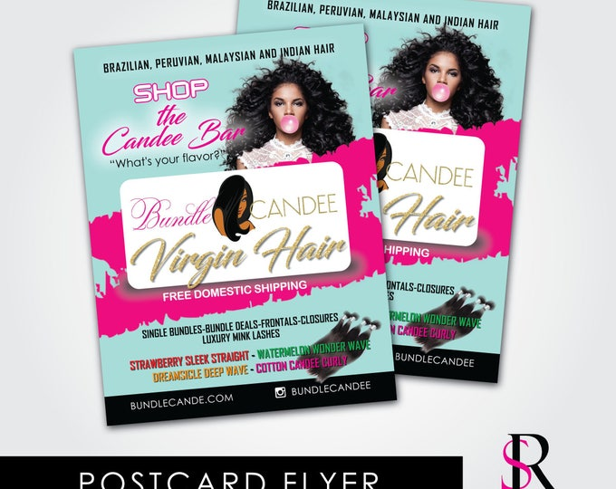 Flyer/Postcard (Design&Print)