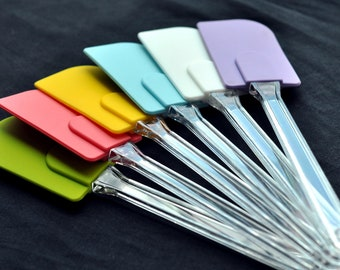 SALE: High Quality Flexible Large Baking Silicone Scraper Spatula Butter Knife