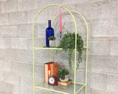 LOCAL PICKUP ONLY Vintage Arch Shelving Unit