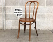 LOCAL PICKUP ONLY Vintage Thonet Bentwood Chair