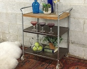 LOCAL PICKUP ONLY Vintage Bar Cart