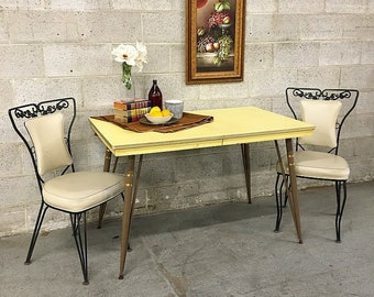 Formica Kitchen Table Etsy