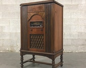 LOCAL PICKUP ONLY Antique Rca Victor Phonograph Cabinet