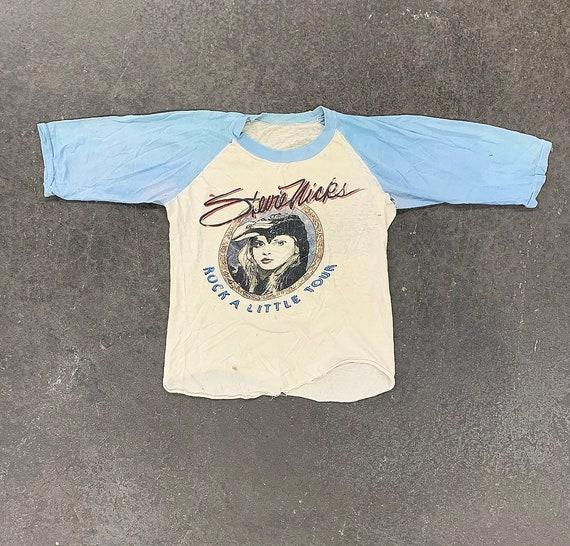 Vintage Stevie Nicks Tee Retro 1986 Rock A Little