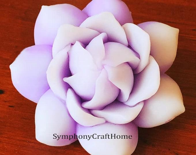 Gardenia mold, 3D Lotus mold, flower silicone mold #3dgardenia mold, gardenia candle mold, flower gelatin mold soap mold, wax mold cake mold