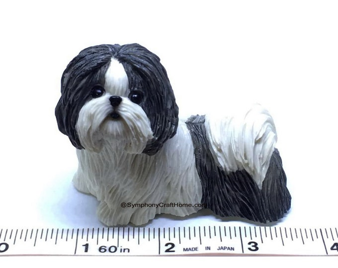 3D shih tzu dog mold, dog soap mold, dog resin mold, shih tuz puppy mold, dog candle mold, dog resin mold, handmade soap mold, dog soap mold