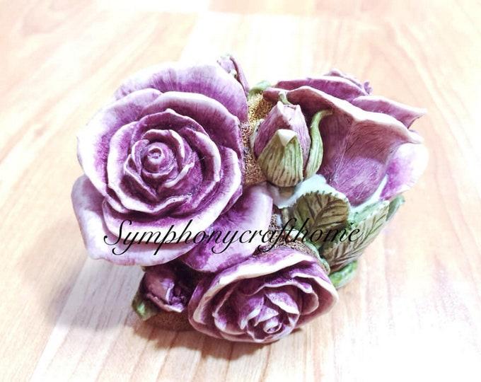 3D big roses molds, rose soap mold, valentine's mold, rose resin mold, rose mold, rose silicone mold # soap mold # rose mold