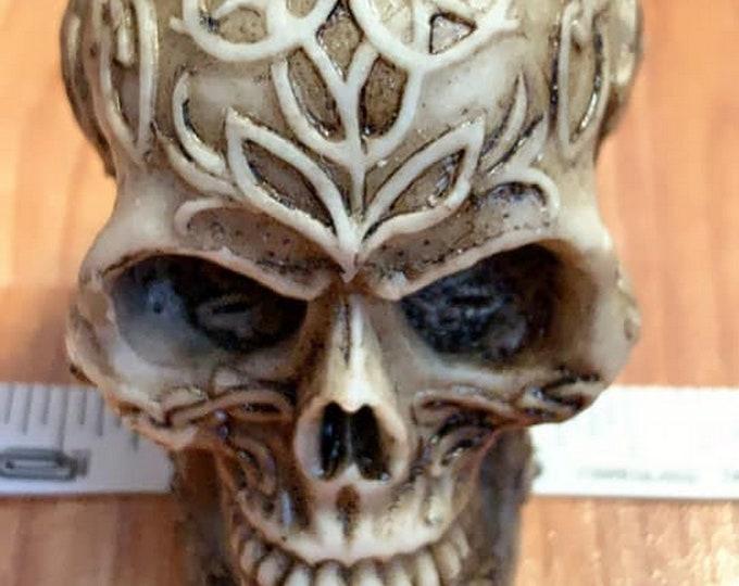 3D skull mold, #skull mold #Halloween mold silicone skull mold #soap mold skull, Celtic skull, 3D skull candle mold resin mold