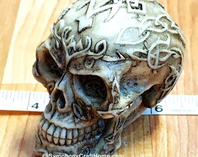 3D skull mold, #skull mold #Halloween mold, fancy skull,silicone skull mold #soap mold skull, Celtic skull, 3D skull candle mold resin mold