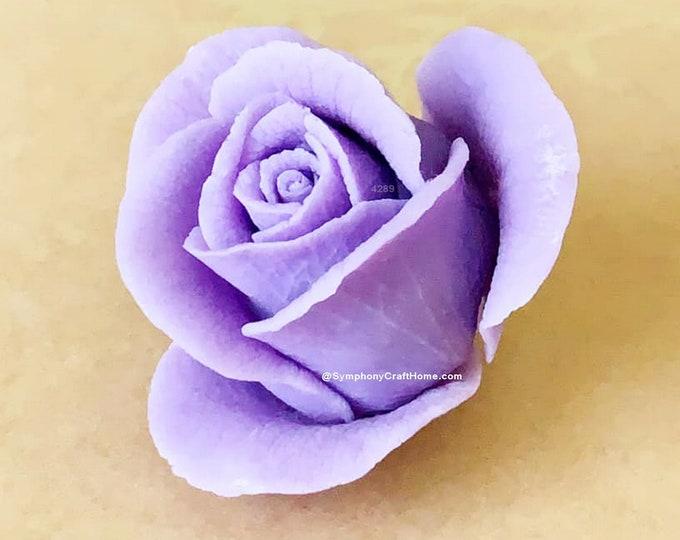3D Rosebud mold, 3D rose mold, rose soap mold, rose candle mold, rose gelatin mold, flower silicone mold, soap mold, #3D Rose wax tart mold