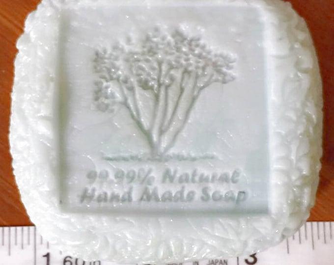 Natural stamp tree mold tree stamp mold silicone mold soap mold soap silicone mol  tree soap mold handmade mold handmade soap