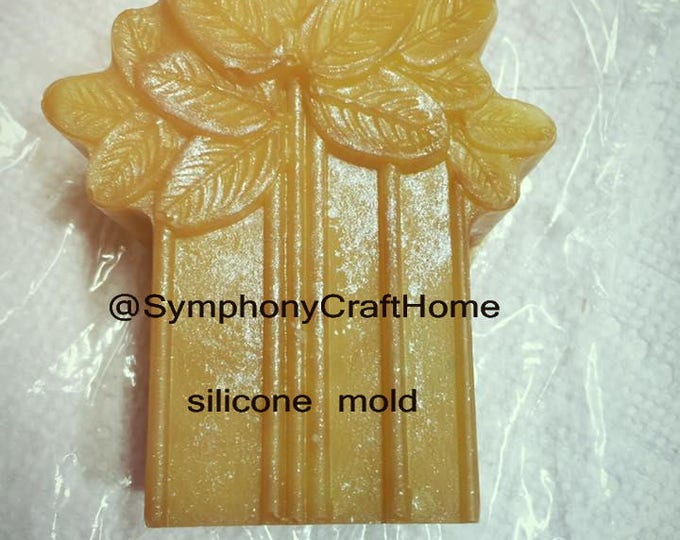 Soap mold #silicone mold Tree mold #palm tree mold polymer clay mold resin mold #tree silicone mold