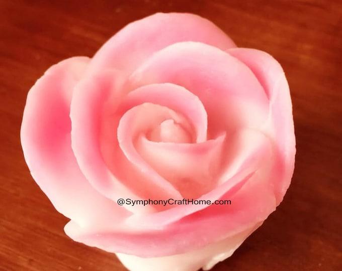 3D big rose bud mold, rose bud valentine's mold, 3D rose mold, rose silicone mold, Valentine's mold, rose mold, rose resin mold, soap mold