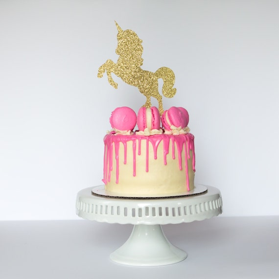 Unicorn Cake Topper Birthday Party