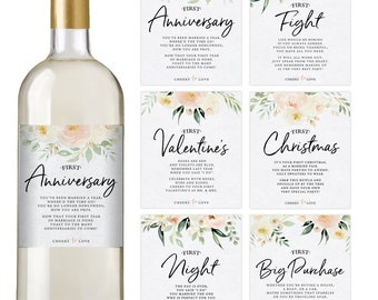 For Weddings Bachlorette Party Or Any Special Occasion Sweet Wedding PERSONALIZED WINE LABEL Table Placements Set of 1-10