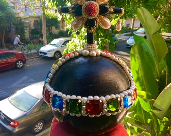 Handcrafted theatrical display Coronation Orb