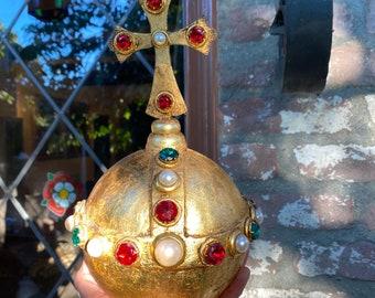 Medieval Coronation Crown Jewels Orb