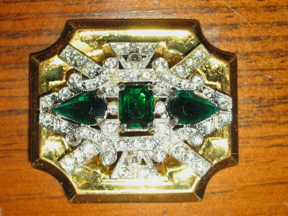 1930s McClelland Barclay Jewelry, Barclay Art Deco