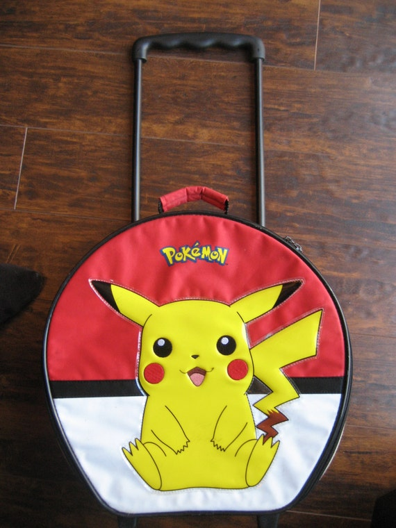 Pokemon PIKACHU Rolling Suitcase, Pokemon Carry-on