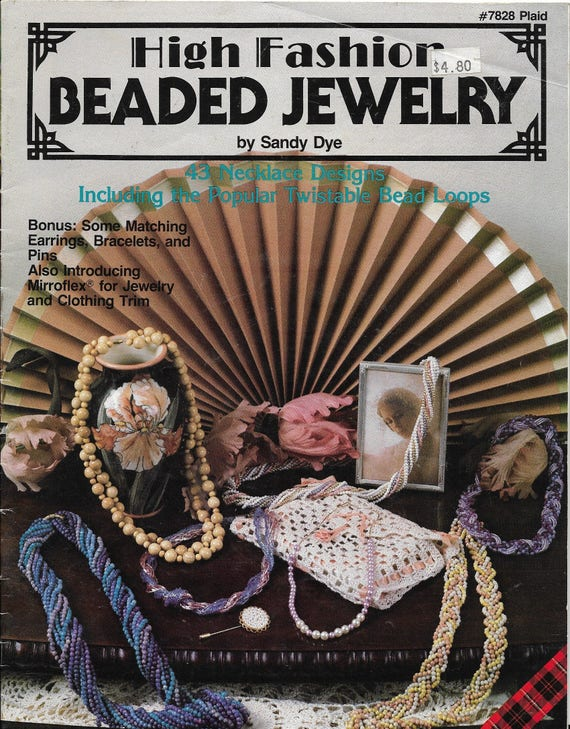 Beaded Jewelry Patterns High Fashion 43 Necklace Designs Etsy