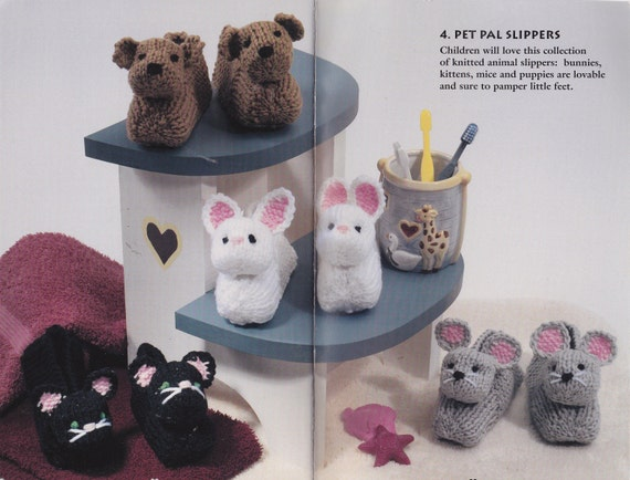 Kreatur Familie Hausschuhe Stricken Häkeln Muster Safari Socke Etsy