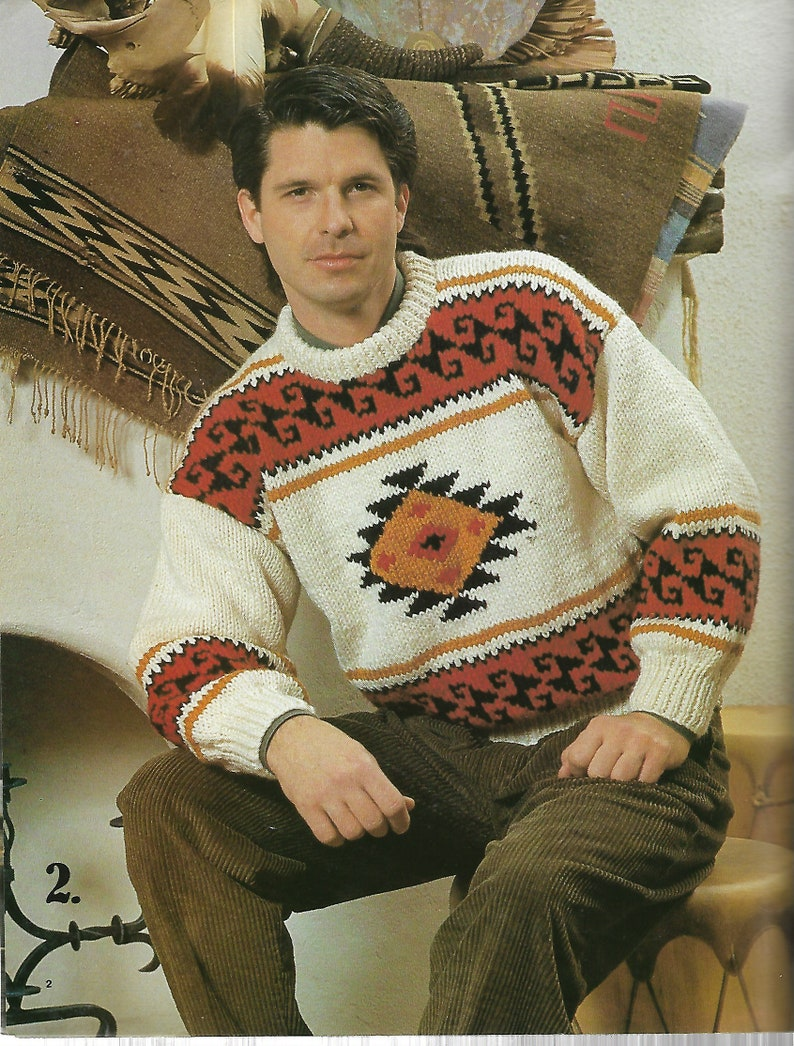 04671a579 Patons Portage Knitting Patterns ARAN Jacket Pattern