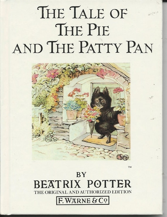 Beatrix Potter Children's Book The Tale of The Pie and | Etsy