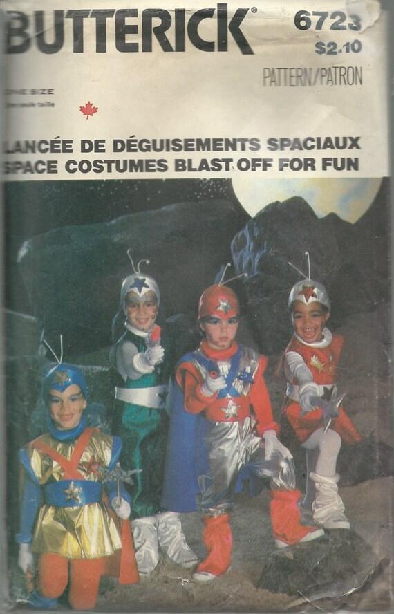 Jahrgang Butt 6723 Schnittmuster SPACE Kostüme Einbau | Etsy