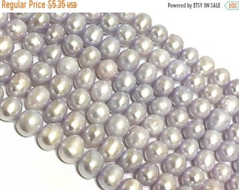 9ab6a11b74c7 25% OFF Lilac Blue Purple Potato Freshwater Pearl Beads