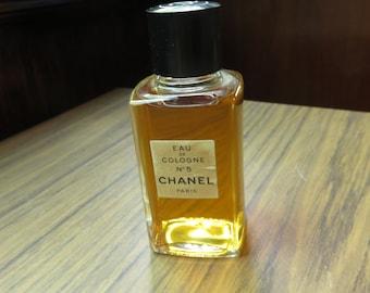 Vintage Eau de Cologne Chanel no 5 Paris Perfume