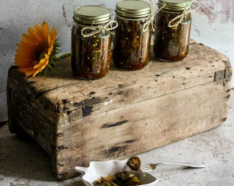 BESTSELLER! Candied Jalapenos aka  Cowboy Candy Small Batch Grown Locally in Longwood Florida