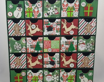 Gingerbread Christmas Countdown / Advent Calendar